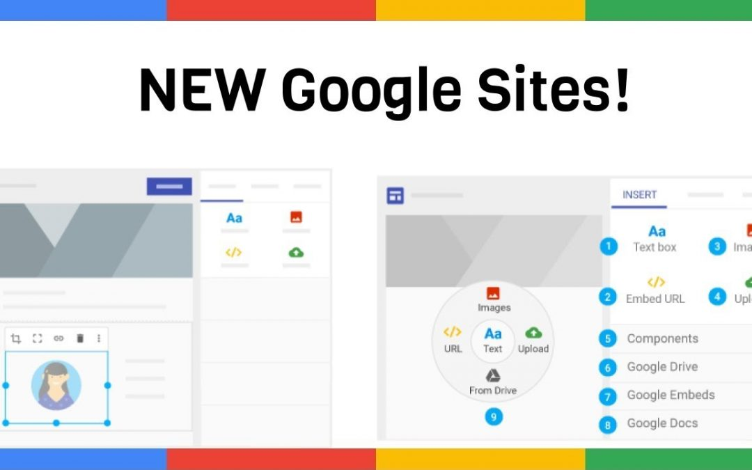Google Sites: an online website creation tool